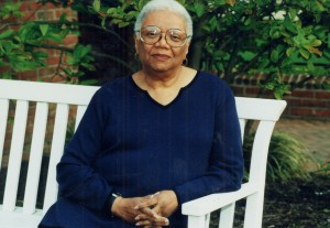 The poet Lucille Clifton
